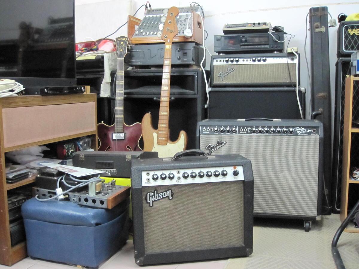 Vintage amp rerpairs