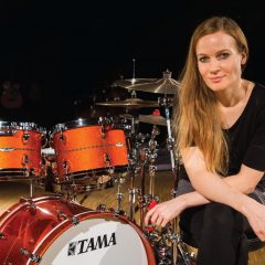 Tama drum clinic with Anika Nilles