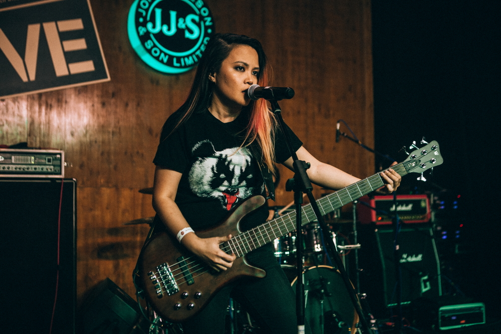 "Melina William – ""I'm not really a bassist"""