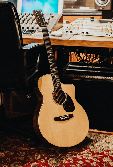 Martin SC-13E… fret not over the higher notes